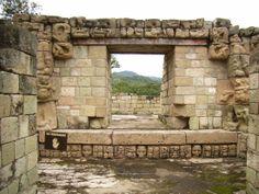Las ruinas de Copán . Honduras