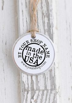 Business Card Stamp Made In the USA Stamp Custom by ThePrintMint