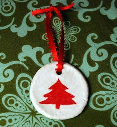 One Sewing Mommie: Christmas Traditions and Salt Dough Ornaments!