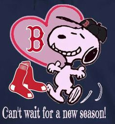 Red Sox - Can't wait for a new season!
