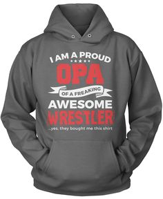 Proud Opa of An Awesome Wrestler