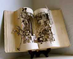 book Art | ... in the machine - Altered Book Arts by Raiders of the Lost Art
