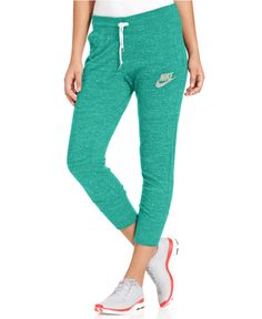 Nike Pants, Gym Vintage Capri Sweatpants - Pants - Women - Macy's
