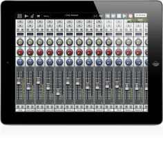"""Oooooh... App Lust!  Auria: 48 track DAW for the iPad with """"AAF import/export for moving sessions between popular DAWs (like Pro Tools and Nuendo), 64-bit double precision architecture, and multiple channels of recording using compatible USB audio interfaces (via the Camera Connection Kit or Apogee's new MFI interfaces)."""""""