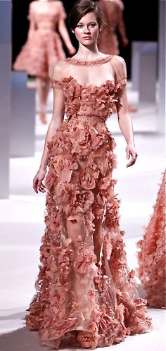 Fashion Friday: Elie Saab Haute Couture Spring/Summer 2011