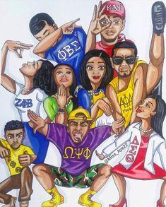Friday Spotlight 🔦 Artist Goes To Ms. Black Love Art, Black Girl Art, My Black Is Beautiful, Black Girls Rock, Black Girl Magic, Art Girl, Arte Black, Black Art Pictures, Black Cartoon