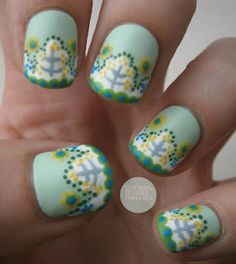 Patterned nails