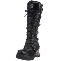 New Rock Women's 8272-S1 Boot black 8272-S1 3 UK