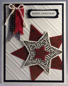 Stampin up Bright & Beautiful Christmas card by Gloria Kremer facebook: Girlfriend Originals
