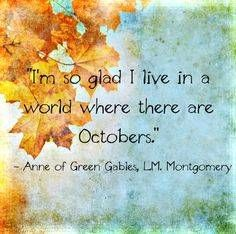 Autumn in turquoise and gold - Anne of Green Gables Pomes, Autumn Scenes, Autumn Cozy, Autumn Art, Happy Fall Y'all, Best Seasons, Anne Of Green Gables, Hello Autumn, Fall Season