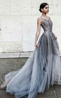 long prom dresses silver, grey silver prom gowns, long prom dresses for women, new arrival prom dresses long, new arrival prom dresses, elegant long prom gowns, 2017 new arrival prom dresses long