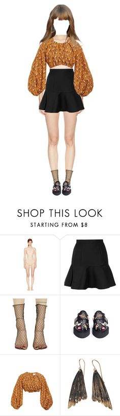"""""""{ Yuri } At Weekly Idol"""" by vxxo ❤ liked on Polyvore featuring STELLA McCARTNEY, Miu Miu, Ana Accessories, Alexander McQueen, Acler, AURUM by Guðbjörg and yuri"""