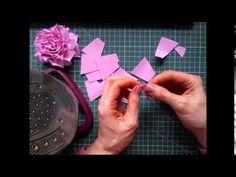 Что такое фоамиран. Как работать с фоамираном.  Мастер класс по фоамирану Salt Dough, Handmade Flowers, Flower Making, Paper Flowers, Polymer Clay, Cards, How To Make, Watch, Youtube