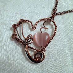 I give you my heart pendant | JewelryLessons.com