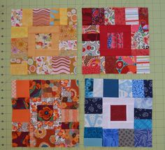 Boston Modern Quilt Guild March 2015 Block of the Month