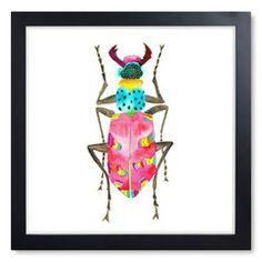 Beetle Print III
