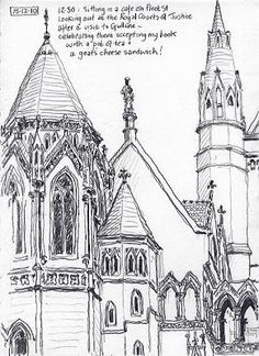Urban Sketchers: Lynne Chapman