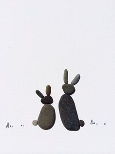 Pebble art by sharon nowlan by PebbleArt on Etsy