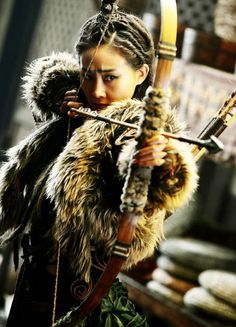 Lin Peng in 'Dragon Blade' (2015).