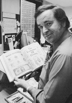 Legendary former editor, Al Feldstein, the Soul of Mad Magazine, Dies at 88 [New York Times obituary: May 1, 2014]