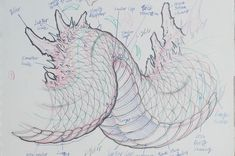 Drawing Animals Ideas Like a building needs a strong foundation, drawing a dragon requires understanding of the structure. After that you can develop your own style.dragon tutorial from the up coming - Manga Drawing, Drawing Sketches, Animal Drawings, Art Drawings, Drawing Animals, Dragon Sketch, Poses References, Desenho Tattoo, Dragon Art