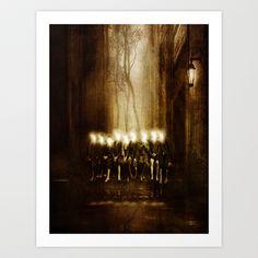 Children of the light Art Print by Viviana Gonzalez - $19.95