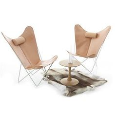 great dane ks chair - leather and steel (mint or white powder coated steel frame.  $2450