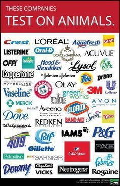 ... ... these companies test on animals ... PURE Haven Essentials is NOT on this list because we do NOT ... never have, never will (AND we have the Leaping Bunny approval from PETA to prove it!!) ... for more information, 'like' PURE haven essentails by Annie B at https://www.facebook.com/PHEbyAnnieB