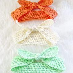 Knot Me Up Headband, Free Crochet Pattern Free Baby or Adult Crochet Headband Pattern, in multiple sizes. A beautiful stitch … Crochet Pattern Free, Crochet Gratis, Knitting Patterns, Mittens Pattern, Crochet Ideas, Crochet Patterns For Baby, Kids Crochet, Free Crochet Headband Patterns, Crochet Stitches