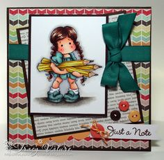 Tracy's Stamping Corner: Just a Note - Tilda