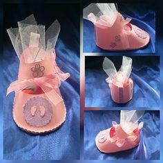 Handmade personalized baby shoe