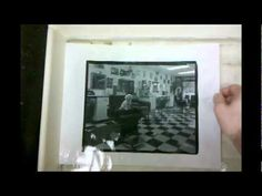 Carbon Transfer Printing - Developing the Print - YouTube
