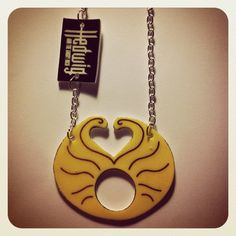 Hedwig and the Angry Inch Wig Necklace