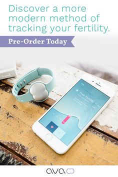 Pre-order for $50 off.Ava fertility tracking bracelet identifies an avg. of5.3fertile days per cycle with an accuracy of 89% - that's more than both the temperature method and ovulation sticks! You'll see insightsaboutyoursleep quality and quantity, physiologicalstress level, heart rate, temperature, ovulation, cycle length, and most importantly, your conception probability for that day.Double your chances to conceive with Ava. Pre-order for $50 off.