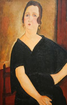 Madame Amedee (Woman with Cigarette), oil on canvas, 1918, Amedeo Modigliani (Italian, 1884-1920), National Gallery of Art, Washington DC, 2012.