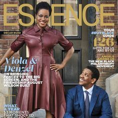 Denzel Washington and Viola Davis Shine on the December issue of ESSENCE | Essence.com