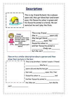 This is me Part 1 *** Reading comprehension for adults *** elementary level *** with key *** fully editable worksheet - Free ESL printable worksheets made by teachers English Primary School, English Grammar For Kids, English Lessons For Kids, Kids English, English Reading, English Vocabulary, Teaching English, Learn English, Worksheets For Kids