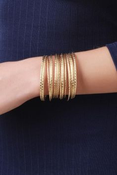 Stacked Wires Bangle