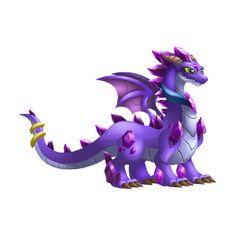 Dragon City: The Amethyst dragon information Dragon City Game, Dragon Games, Anubis, Kawaii Drawings, Cool Drawings, Creature Drawings, Fire Dragon, Painting & Drawing, Creepy