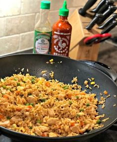 Better Than Takeout Chicken Fried Rice - The Cookin Chicks Very Good!!!!
