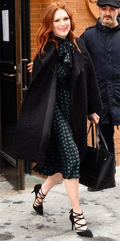 Look of the Day - March 04, 2015 - Julianne Moore from #InStyle