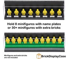 LEGO Minifigure Display Case Black - http://thebrickblogger.com/2013/05/lego-minifigure-display-cases/