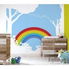 Rainbow bij Behangwebshop 290 euro hele muur