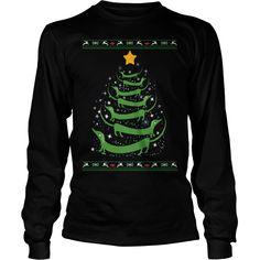 Ltd Edition Dachshund Christmas Tree