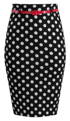 This super soft stretchy pencil skirt is sure to get those heads turning! It can be worn high waisted and perfect paired with one of our black pin me up crop tops!