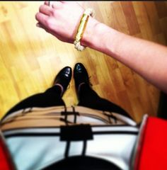 @klmurphy1200 sporting a new #gold #metallic #theropes #theropesmaine #bracelets