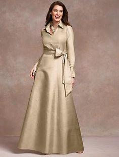 Talbots - Doupioni Ball Dress | Aisle Style | Woman
