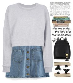 """kiss me under the light of a thousand stars"" by scarlett-morwenna ❤ liked on Polyvore featuring Maison Margiela and vintage"