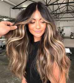 Brown Hair Balayage, Brown Blonde Hair, Balayage Brunette, Hair Color Balayage, Best Brunette Hair Color, Balayage Hairstyle, Bronde Balayage, Pretty Brunette, Long Brunette