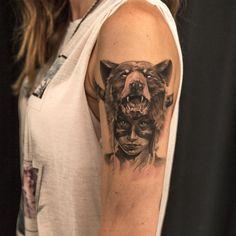 Niki23gtr Niki Norberg art tattoo | via Facebook